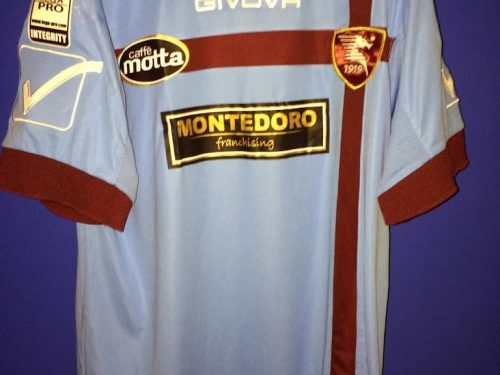 SHIRT MATCH WORN SALERNITANA 2013-2014