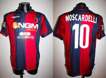 SHIRT MATCH WORN BOLOGNA 2013-2014