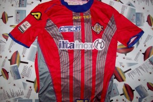 SHIRT MATCH WORN CREMONESE 2013-2014