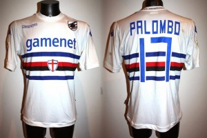 SHIRT MATCH WORN SAMPDORIA 2013-2014