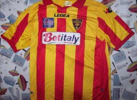 SHIRT MATCH WORN LECCE 2013-2014