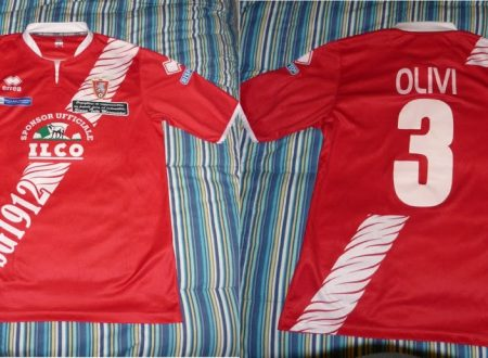 Shirt Match Worn GROSSETO 2012-2013