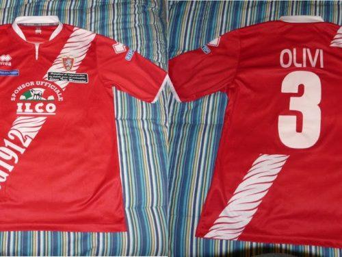 Shirt Match Worn GROSSETO 2012-2013