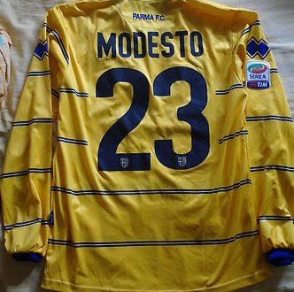 shirt match worn PARMA 2011-2012