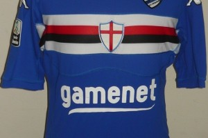 shirt match worn SAMPDORIA 2011-2012