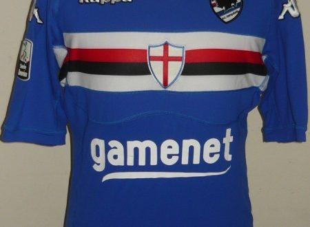 shirt match worn SAMPDORIA 2011-2012