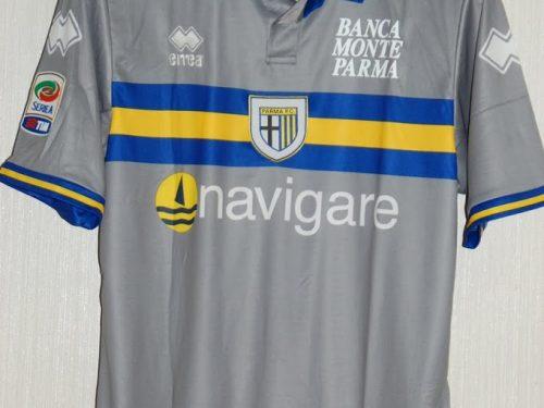 shirt match worn PARMA 2010-2011