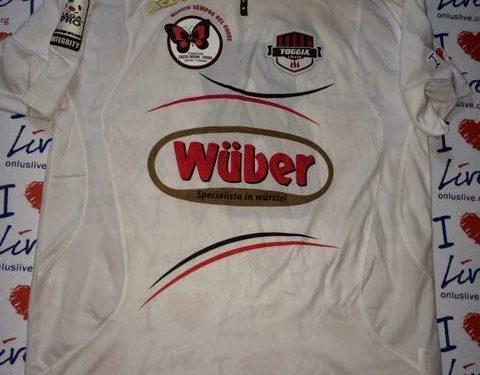 shirt match worn FOGGIA 2013-2014