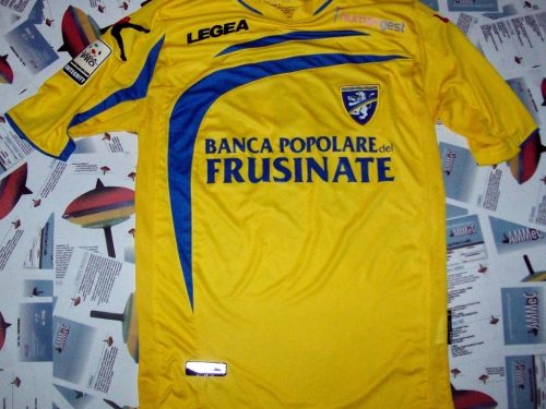shirt match worn FROSINONE 2013-2014