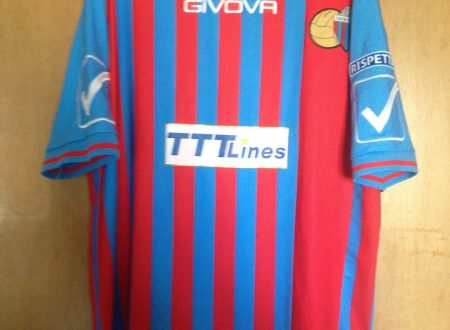 Shirt Match Worn CATANIA 2014-2015