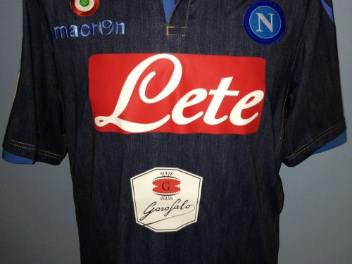 Shirt match worn NAPOLI 2014-2015