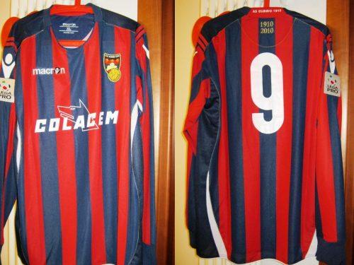 Shirt Match Worn GUBBIO 2010-2011