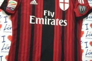 Shirt Match Worn MILAN 2014-2015