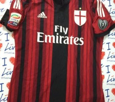 Shirt Match Worn MILAN 2014-2015
