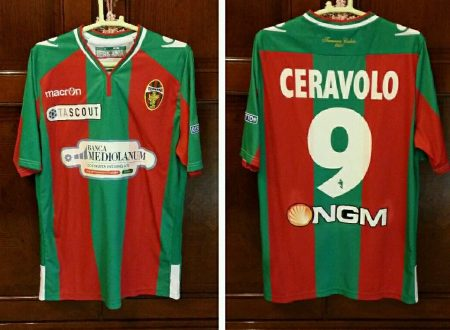 shirt Match Worn TERNANA 2014-2015