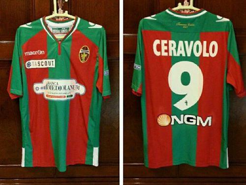 shirt Match Worn TERNANA 2014-2015