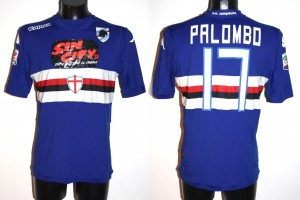 Shirt Match Worn SAMPDORIA 2014-2015