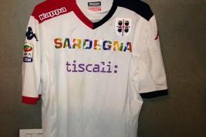 Shirt Match Worn CAGLIARI 2014-2015