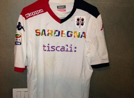 Shirt Match Worn CAGLIARI 2014-2015