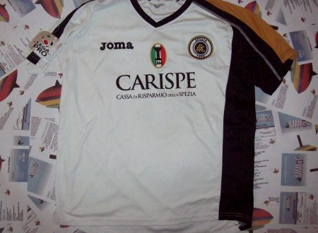 Shirt Match Worn SPEZIA 2010-2011