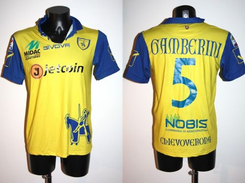 Shirt Match Worn CHIEVO VERONA 2014-2015