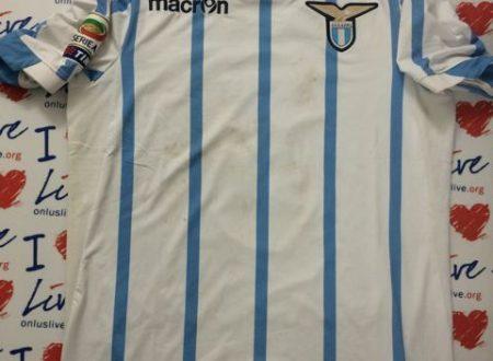 Shirt Match Worn LAZIO 2014-2015