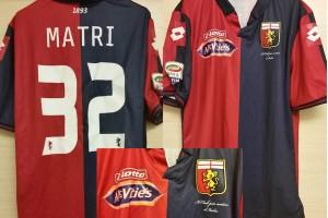 Shirt Match Worn GENOA 2014-2015
