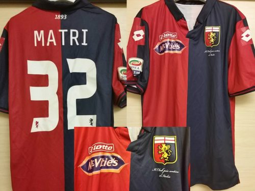 Shirt Match Worn GENOA 2014-2015