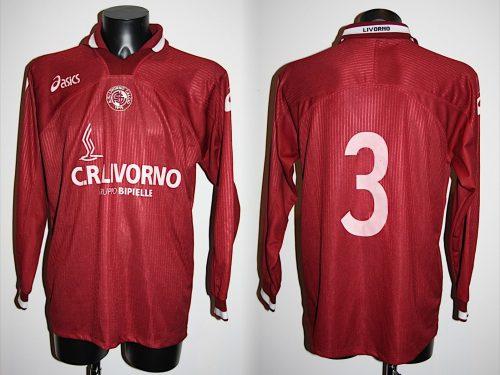 Shirt Match Worn LIVORNO 2000-2001
