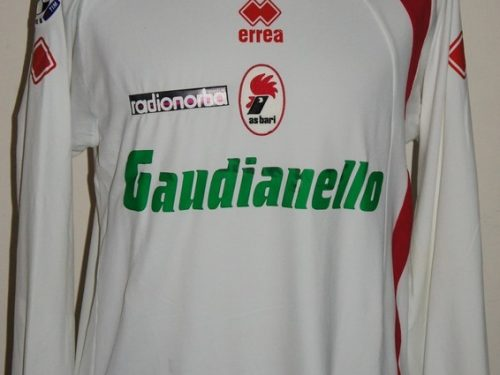 Shirt Match Worn BARI 2008-2009