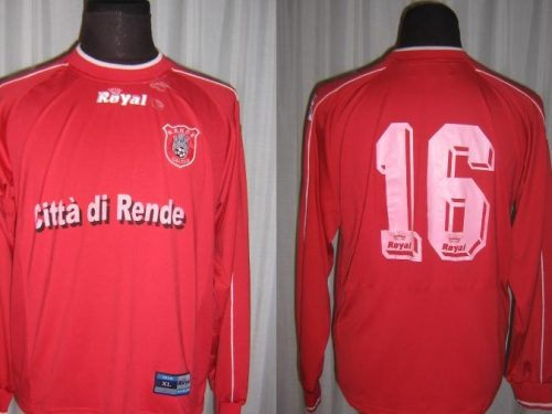 Shirt Match Worn RENDE 2003-2004