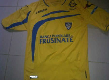 Shirt Match Worn FROSINONE 2014-2015