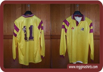 Shirt Match Worn REGGINA 1993-1994