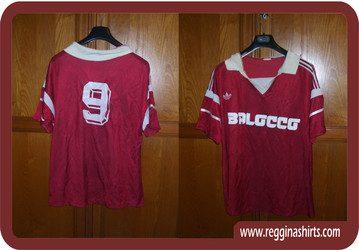 Shirt Match Worn REGGINA 1988-1989