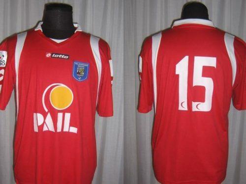 Shirt Match Worn VAL DI SANGRO 2008-2009