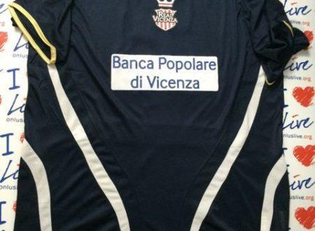 Shirt Match Worn REAL VICENZA 2014-2015