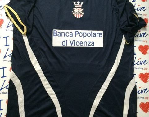 Shirt Match Worn REAL VICENZA 2014-2015