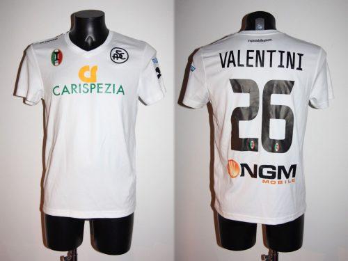 Shirt Match Worn SPEZIA 2014-2015