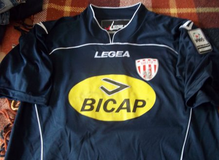 Shirt Match Worn BARLETTA 2013-2014