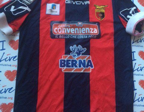Shirt Match Worn CASERTANA 2014-2015