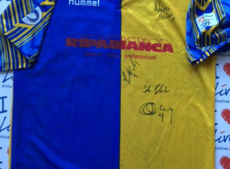 Shirt Match Worn SANTARCANGELO 2010-2011