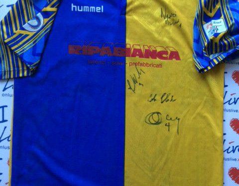 Shirt Match Worn SANTARCANGELO 2010-2011