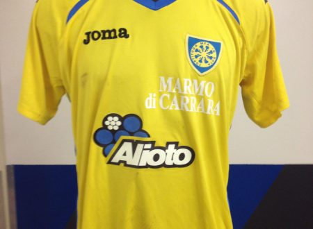 Shirt Match Worn CARRARESE 2014-2015