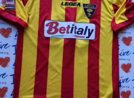 Shirt Match Worn LECCE 2014-2015