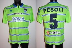 Shirt Match Worn PESCARA 2014-2015