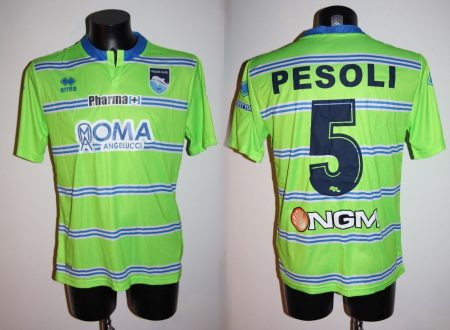 Shirt Match Worn PESCARA 2014-2015