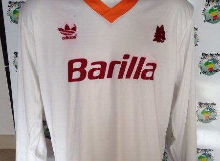 Shirt Match Worn Roma 1992-1993