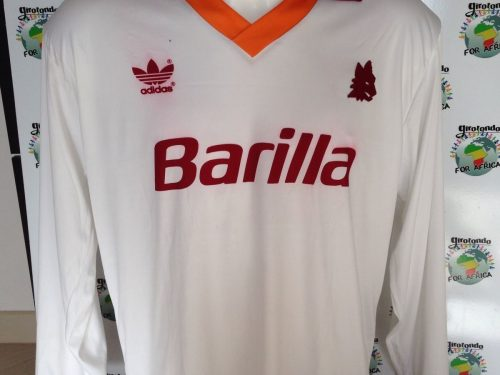 Shirt Match Worn Roma 1992-1993