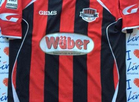 Shirt Match Worn FOGGIA 2014-2015