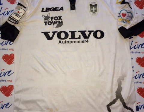 Shirt Match Worn COMO 2014-2015